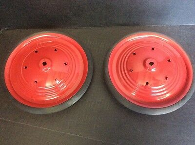 """Restore Your Vintage Pedal Plane With A Pair of """"Pedal Airplane Drive Wheels"""""""