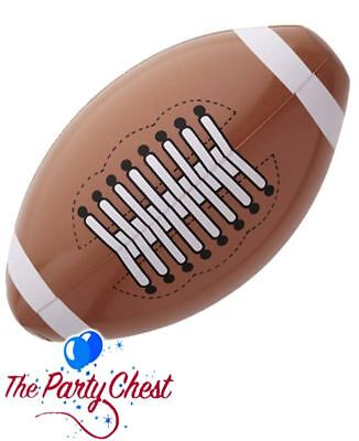 INFLATABLE AMERICAN FOOTBALL 36cm NFL Ball Fancy Dress Costume Accessory 1856
