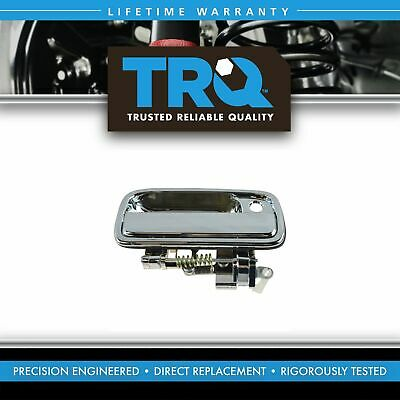 Exterior Door Handle Front Right Side RH RF Chrome for Pickup Truck