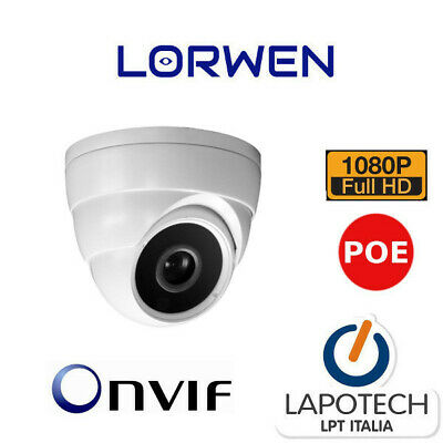 LORWEN IP CAMERA POE WP5024VTC ONVIF DOME 1080P HD P2P TELECAMERA 3mpx H265 IP66
