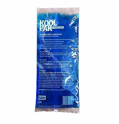 Hot & Cold Packs 12x29 Reusable - Back Pain - Gel Heat Pack- Spraines & Twists