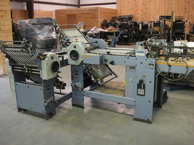 """Stahl T49, w/ Right Angle, air & pile feed, 19 3/4"""" x 35"""""""