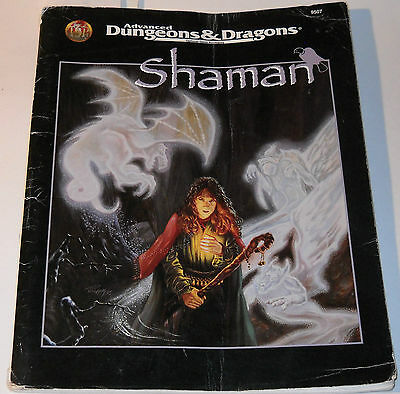 Advanced Dungeons & Dragons Accessory Shaman Book #9507 1995