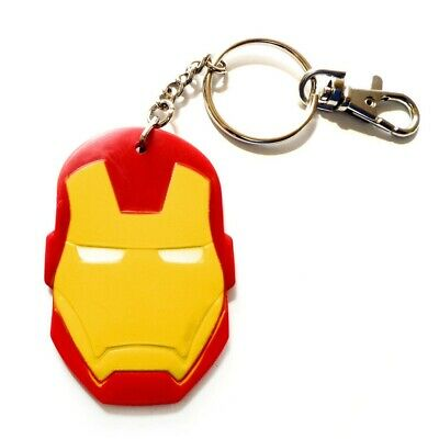 Iron Man Bendable Keychain Red