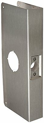 """Don-Jo 12-CW 22 Gauge Stainless Steel Classic Wrap-Around Plate 4-1/4"""" x 12"""" NEW"""