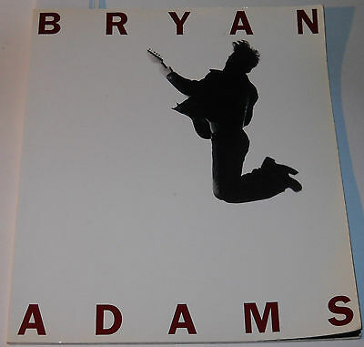 Bryan Adams SoftCover Book by Bryan Adams and Andrew Catlin 1995