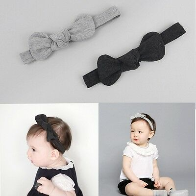 Kids Girl Baby Toddler Bow Headband Hair Band Accessories Headwear For Infant
