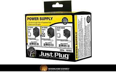 Woodland Scenics JP5772 Power Supply (UK) - Just Plug