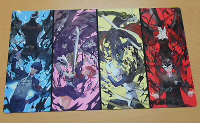 D476 Persona Playmat Card Game Mat YUGIOH MTG Vanguard Mouse Pad Free Mat Bag