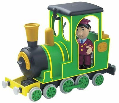 New Postman Pat Greendale Friction Rocket Train with Ajay Figure Toy New Boxed