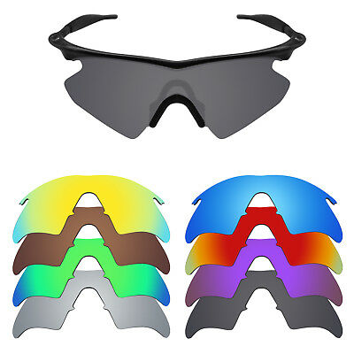 MRY POLARIZED Replacement Lenses for-Oakley M Frame Heater - Option Colors