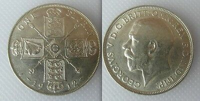 Collectable 1912 Silver One Florin Coin Of King George V