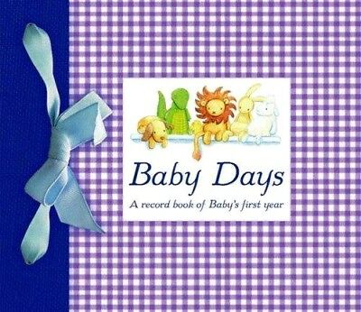 BABY DAYS: A record book of Baby's first year : WH3 : HB204 : NEW BOOK