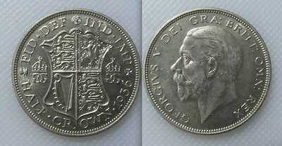 Collectable 1936 King George V Half-Crown Coin - E.F Condition