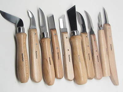 Woodcarving Knives Detail Chip Caraciture Whittling Signature Series