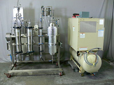 Eden Labs 5 Liter Co2 Extractor - Supercritical Extraction 2000PSI w/ Compressor