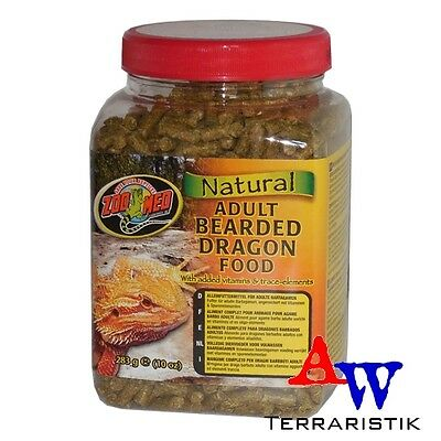 ZooMed Natural Bearded Dragon Food 283g - adult - Bartagamenfutter