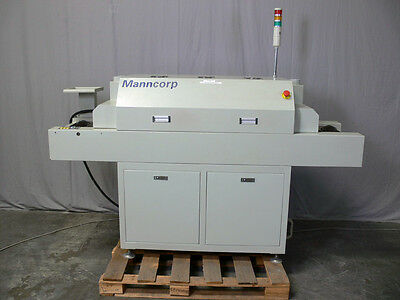 Manncorp Model 530 C Reflow Oven w/ Evoc Industrial Computer 810