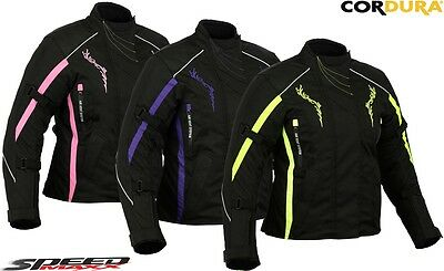 Womens Smart Rider Ladies High Quality Ce Motorbike / Motorcycle Textile Jacket