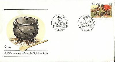 Transkei 1985 Additional Definitive Stamp FDC
