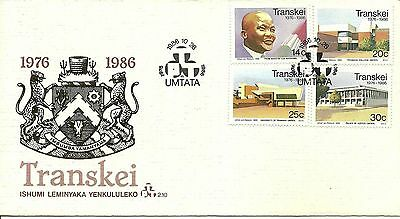 Transkei 1986 10th Anniv of Indenpendence FDC