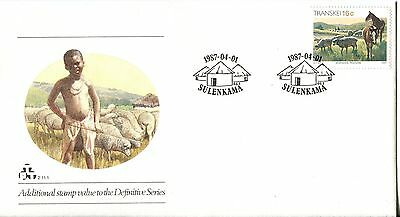 Transkei 1987 Additional Definitive Stamp FDC