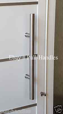 New Stainless Steel EntryPull Handle Round Pull for Glass Door Bar