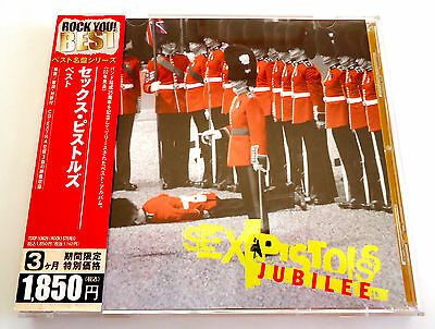 SEX PISTOLS Jubilee JAPAN CD 2006 w/OBI TOCP-53629 CD-Extra Limited Edition