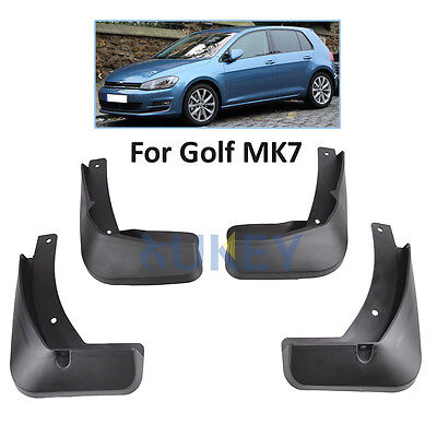 Fit For 13- Vw Golf 7 Mk7 Vii Mudflaps Mud Flap Splash Guards Mudguards Fender