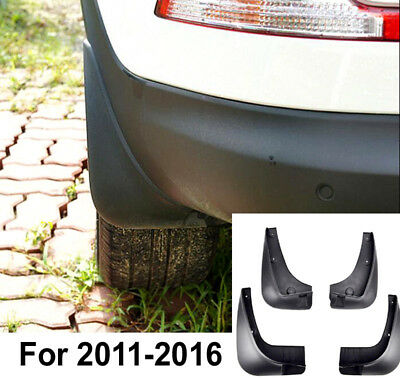 Front Rear Mud Flaps Fit For 10-15 Kia Sportage Splash Guards Mudguards Mudflaps