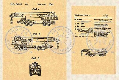 TONKA State Highway Dragline TRUCK US Patent #451