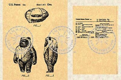 US Patent for WICKET - STAR WARS - EWOK #141