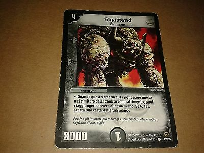 Duel Masters  Trading Card Game Gigastand 28/55 Italiano