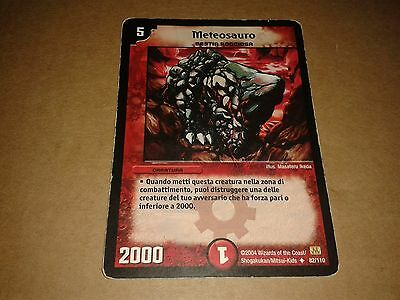 Duel Manster Trading Card Game Meteosauro 82/110 Italiano