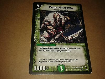Duel Masters  Trading Card Game Pugno D'argento 54/55 Italiano