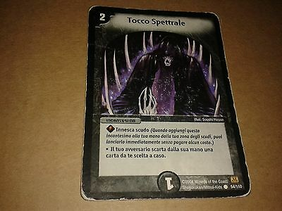 Duel Masters  Trading Card Game Tocco Spettrale 54/110 Italiano