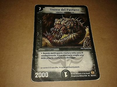 Duel Masters  Trading Card Game Verme Del Pantano 62/110 Italiano