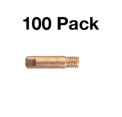 100 Pack - 0.8mm Steel Contact Tip M6 Bzl Suit SB15/MB15 (PCT0006-06)