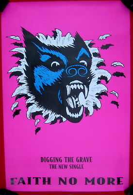 Faith No More HUGE uk 1995 poster Digging the Grave double quad