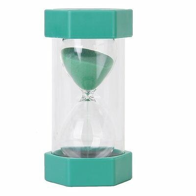 Security Fashion hourglass sand timer 10 minutes Green FK