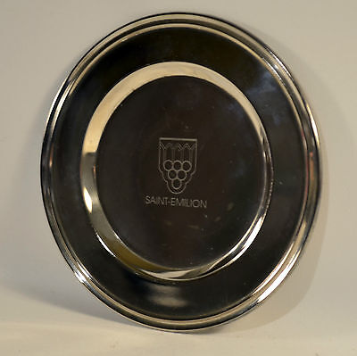 Memory Silver Plate from Saint-Emilion France