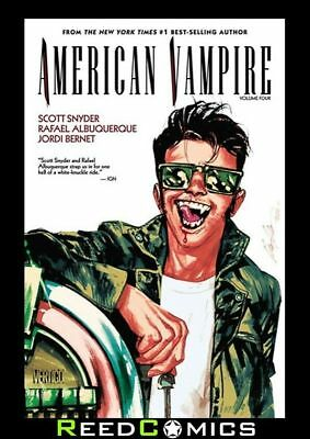 AMERICAN VAMPIRE VOLUME 4 GRAPHIC NOVEL New Paperback Collects #19-27