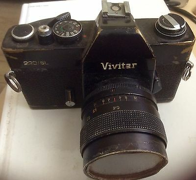 Vivitar 220 SL 35mm SLR Film Camera. #CA7