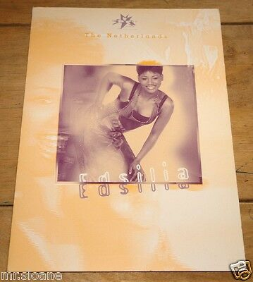 Edsilia Rombley ~ Eurovision Song Contest Promotional Promo Press Pack 1998