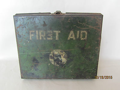 Vintage 1939-1964 AT&T Bell System Telephone First Aid Kit Case - Empty