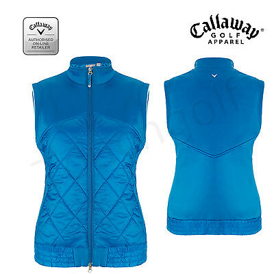 Callaway Womens/Ladies Weather Resistant Gilet/BodyWarmer/Vest-CGVF5010-New.