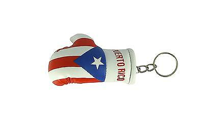 Mini boxing gloves keychain keyring flag remote key fob flag uk union jack black