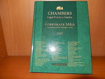 Corporate M&A 2015 chambers legal pratice guides