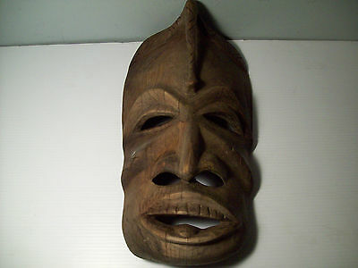 Wooden Hand Carved Mask