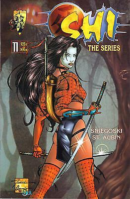 Shi The Series #11 May 1998 First Printing Crusade Comics